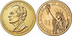 1 доллар 2016 Ричард Никсон