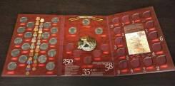 Альбом пенолонный для монет 70 лет Победы в ВОВ 1941-1945 40 ячеек