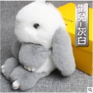Зайка из натурального МЕХА! 18см! Отличное качество! Супер подарок!