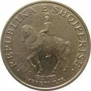 Албания 50 лек 2000 год (иностранные монеты)