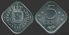 Антилы 5 центов 1971 год (иностранные монеты)