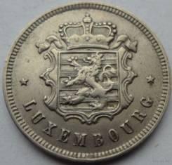 Люксембург 25 сантимов 1927 год (иностранные монеты)