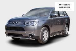 Защита бампера перед, зад, пороги Mitsubishi Outlander XL с 2012 года