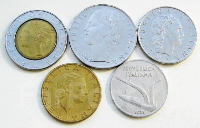 Италия. Подбор монет без повторов