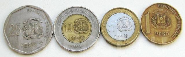 Доминикана. Подбор монет без повторов