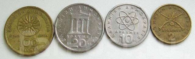 Греция. Подбор монет без повторов