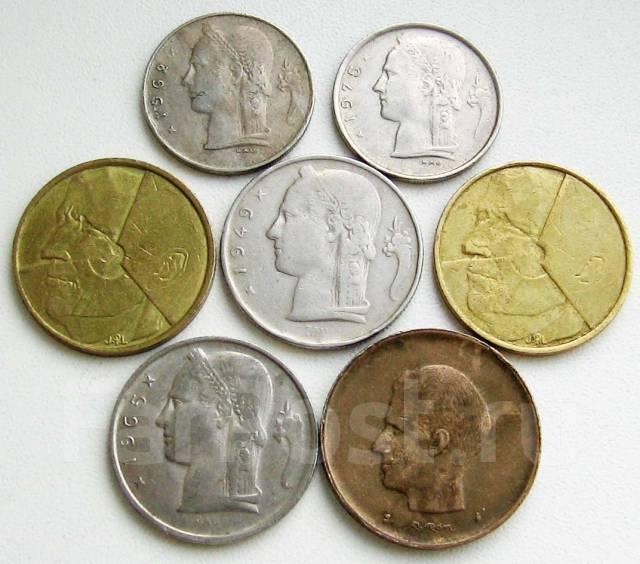 Бельгия. Подбор монет без повторов