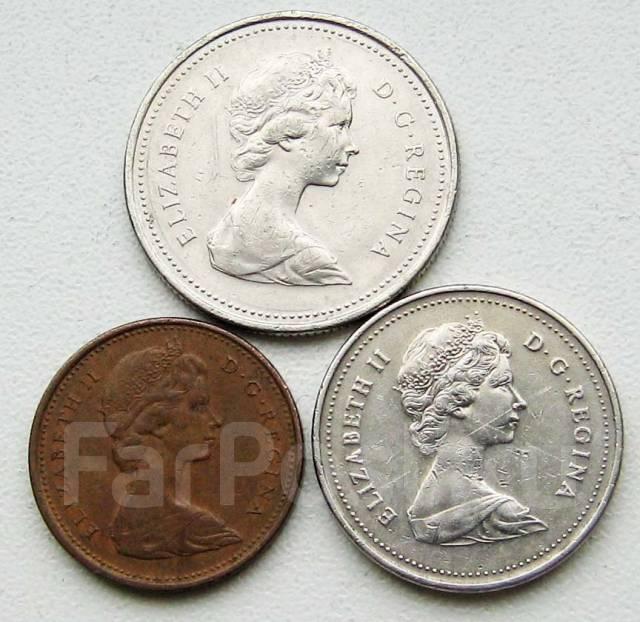 Канада. Подбор монет без повторов