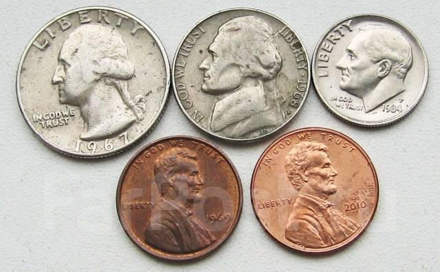 США. Подбор монет без повторов