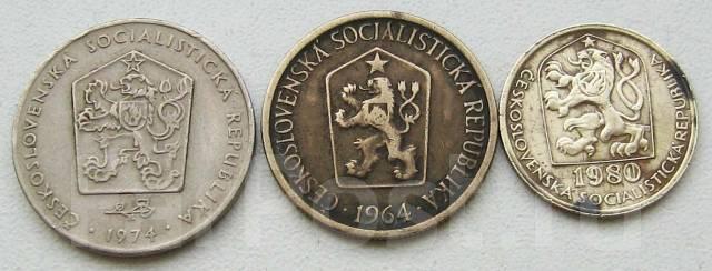 Социалистическая Чехословакия. Подбор монет без повторов