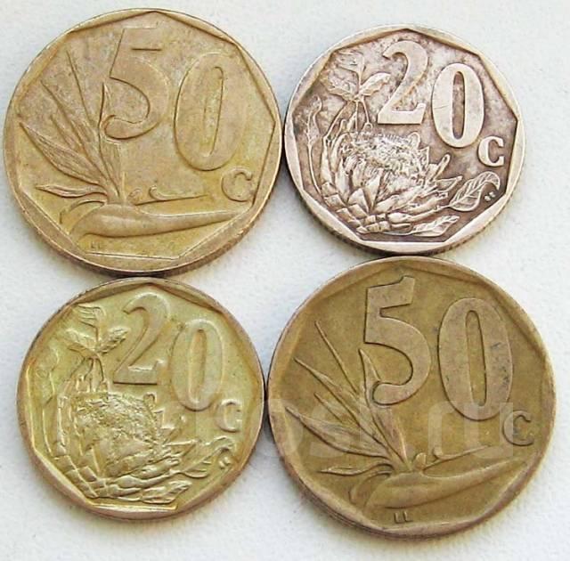 ЮАР. Подбор монет без повторов