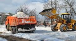 Вывоз, уборка снега во Владивостоке. Самосвалы от 2 до 25т.