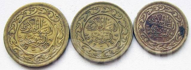 Тунис. Подбор монет без повторов