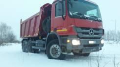 Mercedes-Benz Actros. Самосвал Mercedes-BENZ Actros 6X6 2013, 12 000 куб. см., 25 000 кг.