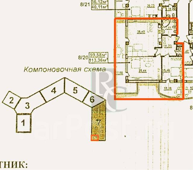 3-комнатная, Парковая, 12. Гагаринский, агентство, 113 кв.м.