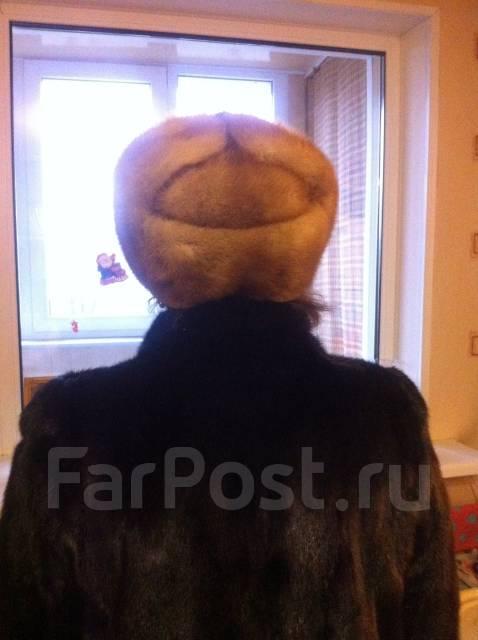 Норковая шапка формовка. 56
