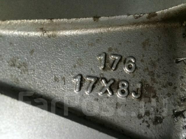 Weds. 8.0x17, 6x139.70, ET25