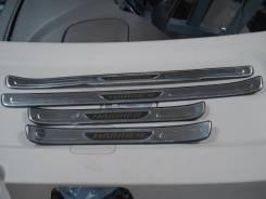 Накладка на порог. Toyota Harrier, MCU10, ACU15, MCU15, SXU15, SXU10, ACU10 Двигатели: 2AZFE, 5SFE, 1MZFE