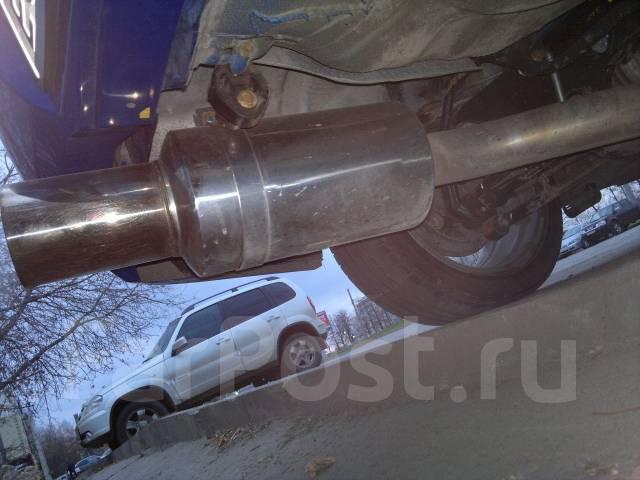 Глушитель. Subaru Impreza