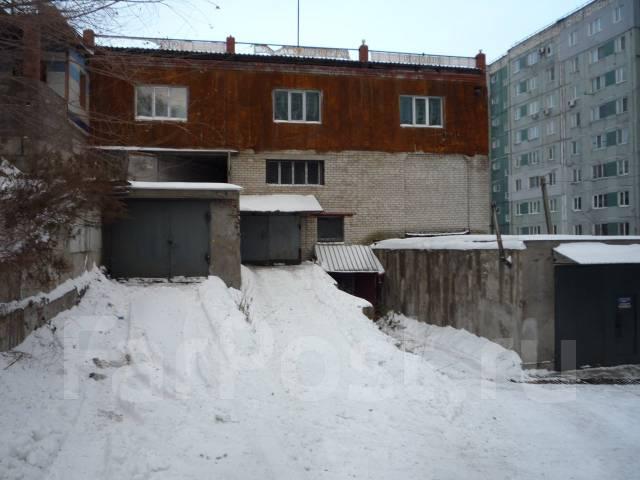 Гаражи капитальные. улица Невельского 1а, р-н Луговая, 33 кв.м. Вид снаружи