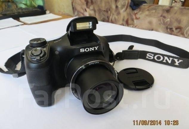 Sony Cyber-shot DSC-H100. 15 - 19.9 Мп, зум: 14х и более