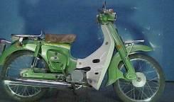 Suzuki. 50 куб. см., исправен, без птс, с пробегом