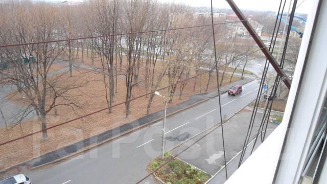 Гостинка, улица Фрунзе 54. автовокзал, агентство, 17 кв.м. Вид из окна днём