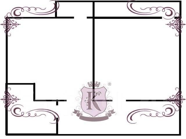 2-комнатная, улица Станюковича 3. Эгершельд, агентство, 78 кв.м. План квартиры