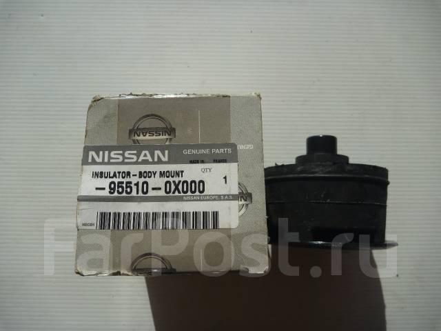 Подушка кузова. Nissan Mistral, R20, KR20 Nissan Terrano2 Двигатели: TD27T, TD27TI, ZD30, KA24E