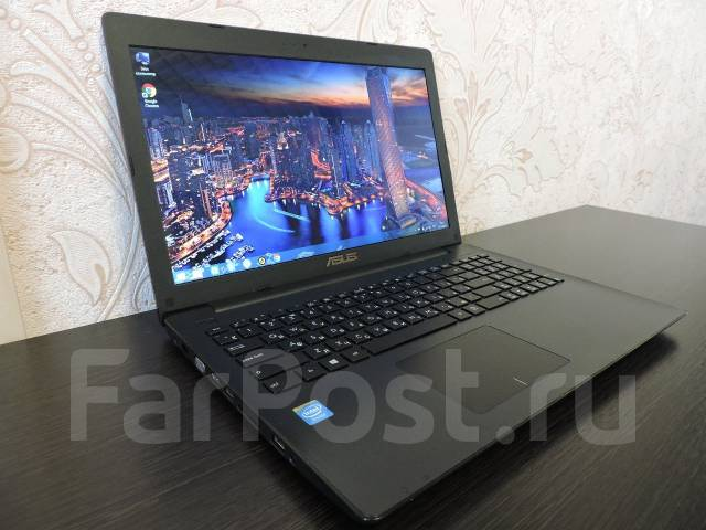 "Asus X553MA. 15.6"", 2,6ГГц, ОЗУ 2048 Мб, диск 500 Гб, WiFi, Bluetooth, аккумулятор на 5 ч."