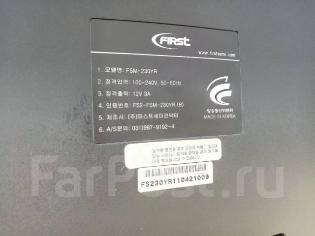 """Монитор 23 дюйма. Разрешение 1920*1080. Сделано в Корее. 23"""" (58 см), технология LED"""