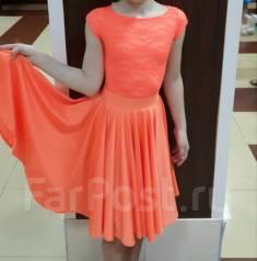 Платья для бальных танцев. Рост: 140-146 см