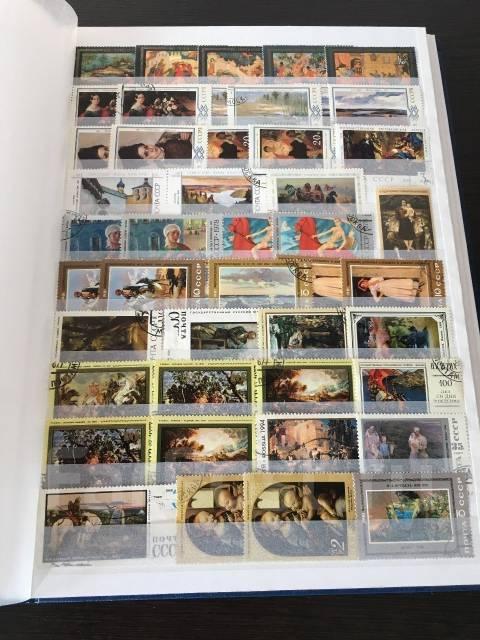 Альбом с марками (~600 шт. )
