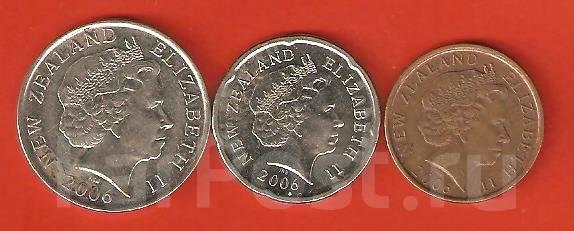 Лот монет . Новая Зеландия.