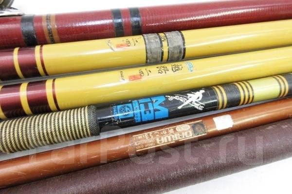 Катушки, удилища Япония разной длины и мощности от 1000р
