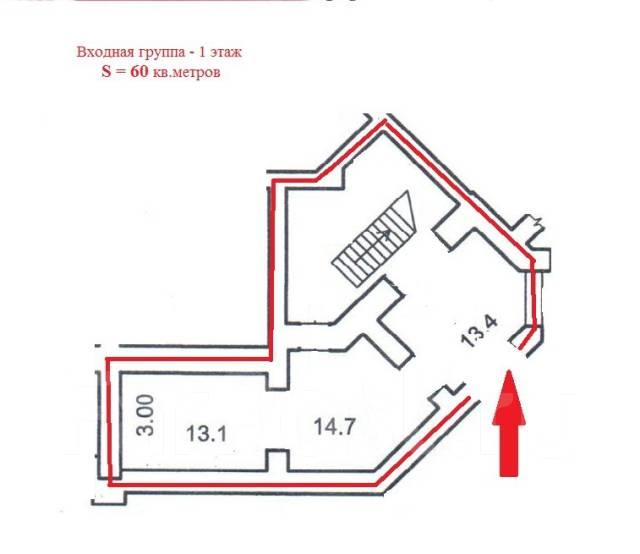 Многофункциональное помещение: 200 - 285 - 485 кв. м. Район Дальпресса. 485 кв.м., улица Авроровская 17, р-н Центр