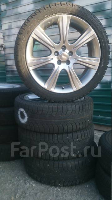Комплект колёс на Субару. 7.0x18 5x100.00 ET55