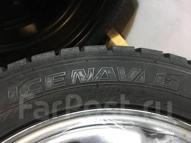 Goodyear Ice Navi 6. Всесезонные, 2015 год, износ: 5%, 4 шт
