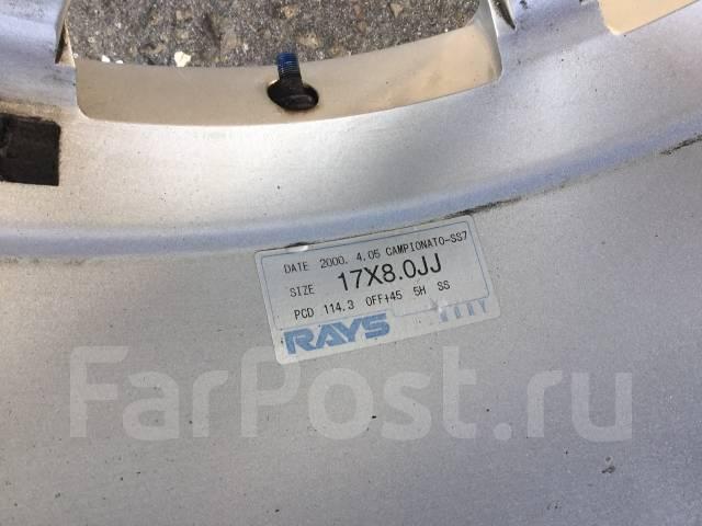 RAYS. 8.0x17, 5x114.30, ET45