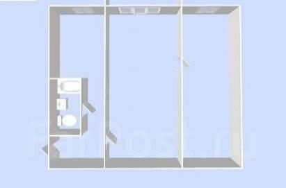 2-комнатная, Малиновского. Болото, частное лицо, 45 кв.м. План квартиры
