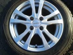 165/70R14 Dunlop Winter Maxx+красивое литье 4*100, в Братске!. 5.5x14 4x100.00 ET38 ЦО 73,0мм.