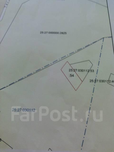 Участок в центре Артема под ИжС. 1 000 кв.м., собственность, от частного лица (собственник). Схема участка