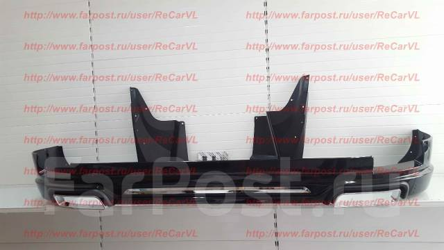 Обвес кузова аэродинамический. Toyota Land Cruiser Prado, GRJ151, TRJ120W, TRJ12, GRJ151W, GRJ150, KDJ150L, GDJ150W, TRJ120, GDJ150L, TRJ125, TRJ125W...
