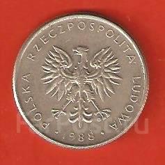 10 злотых 1988 г. Польша.
