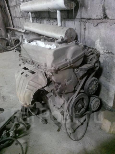 Двигатель в сборе. Toyota Platz Двигатель 2NZFE
