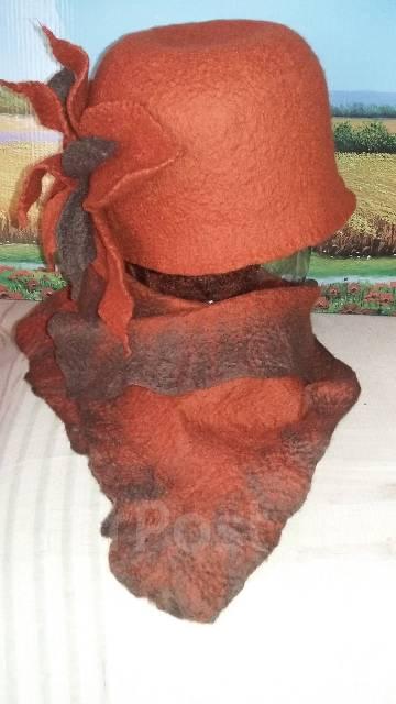 Шапка и шарф. 54. Под заказ