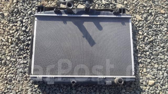 Радиатор охлаждения двигателя. Mazda Demio, DE3FS, DE3AS