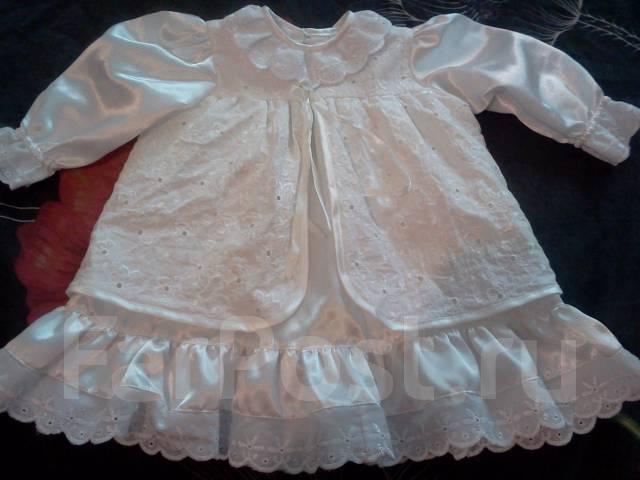 Платья крестильные. Рост: 50-60 см