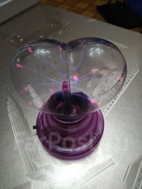 Плазменный ночник в виде сердца! С рубля! Подарки : )