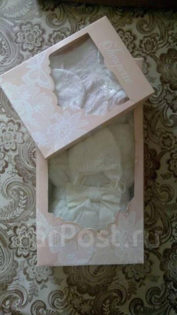 Комплекты и конверты на выписку. Рост: 50-60 см